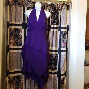 Elegant Halter Skirt Set